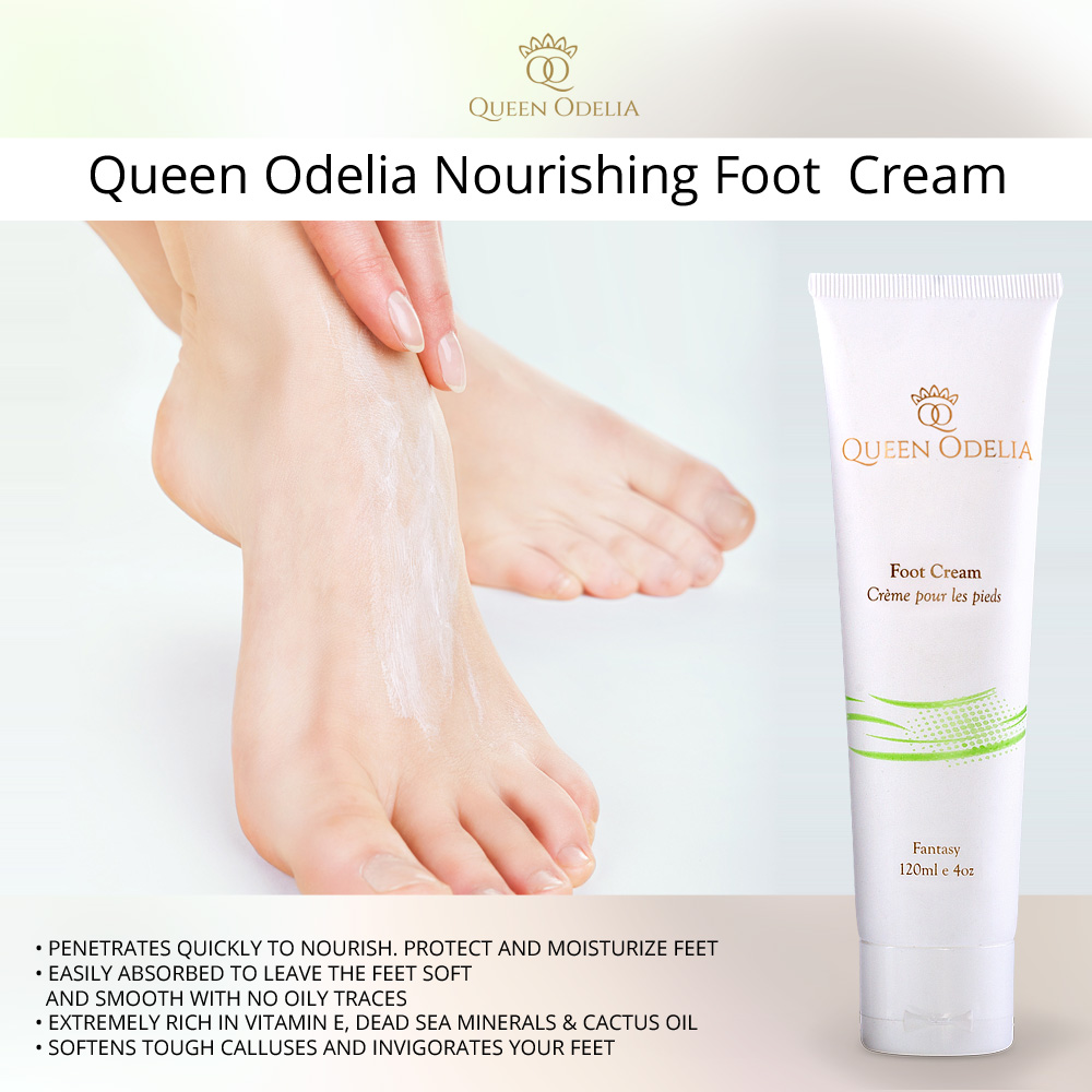 Queen Odelia Foot Cream